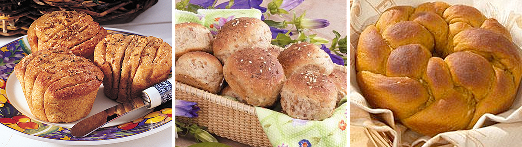 Three Thanksgiving Bread Recipes