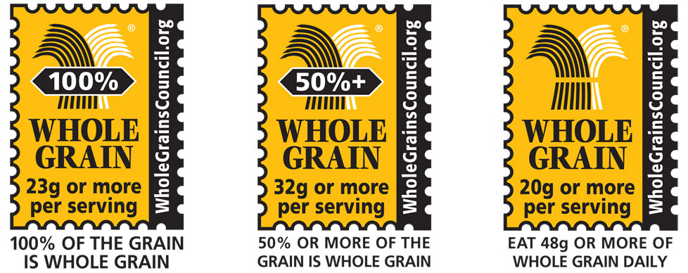 Three Whole Grain Stamps January 2017