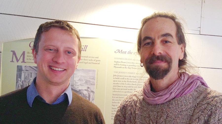 Tristan Noyes and Jonathan Stevens