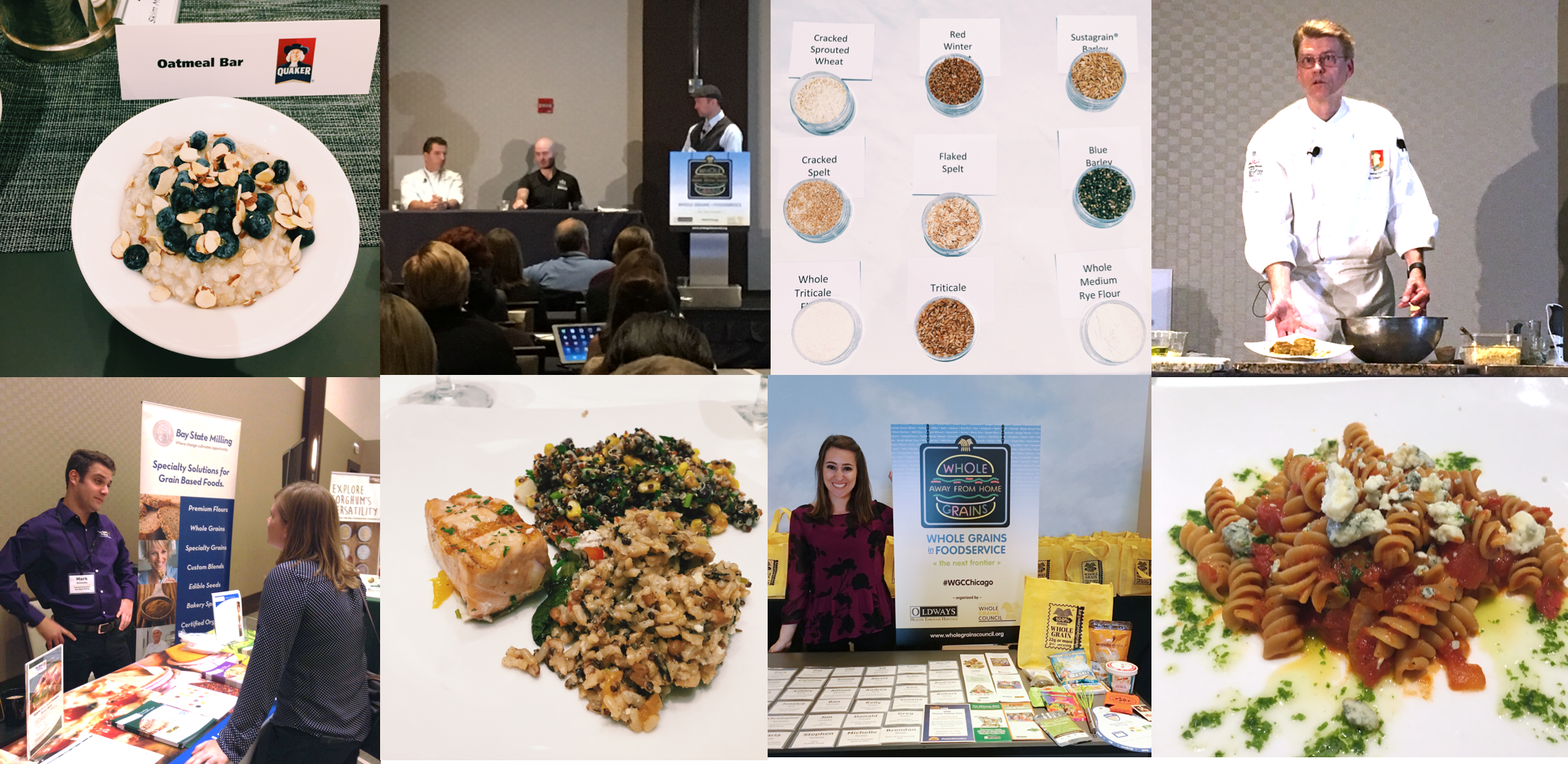 photos from whole grains away from home conference