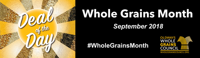 Whole Grains Month banner 2018