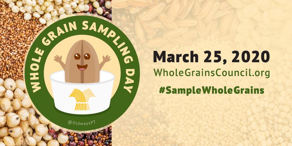 Whole Grain Sampling Day Mascot