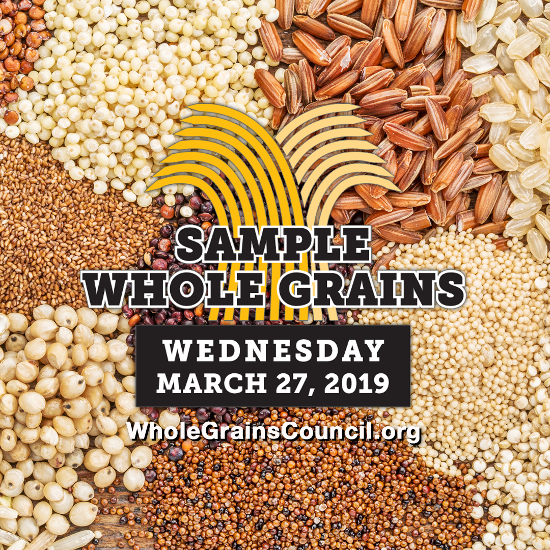 Whole Grain Sampling Day graphic for Instagram