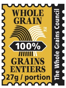 picture of the 27g 100% Whole Grain Stamp