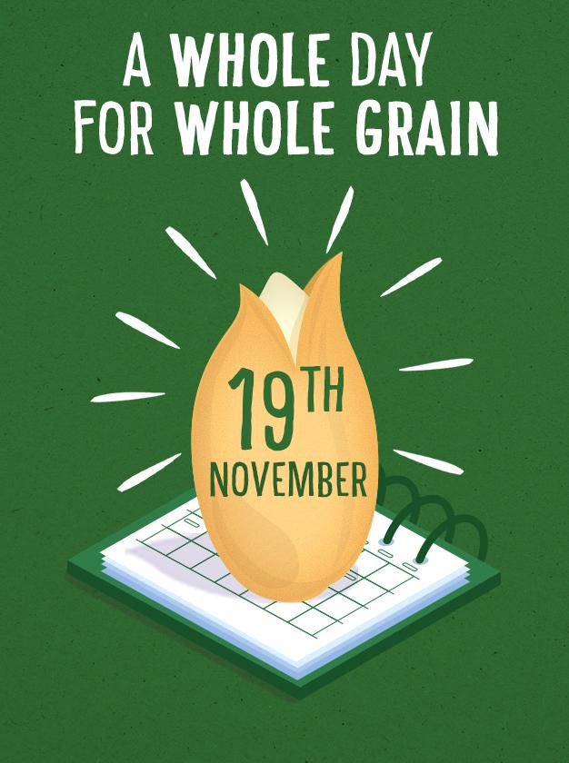 International Whole Grain Day logo