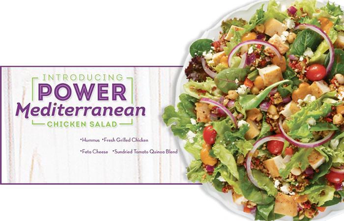 Wendy's Power Mediterranean Salad