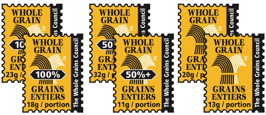 Set of Canadian Whole Grain Stamps