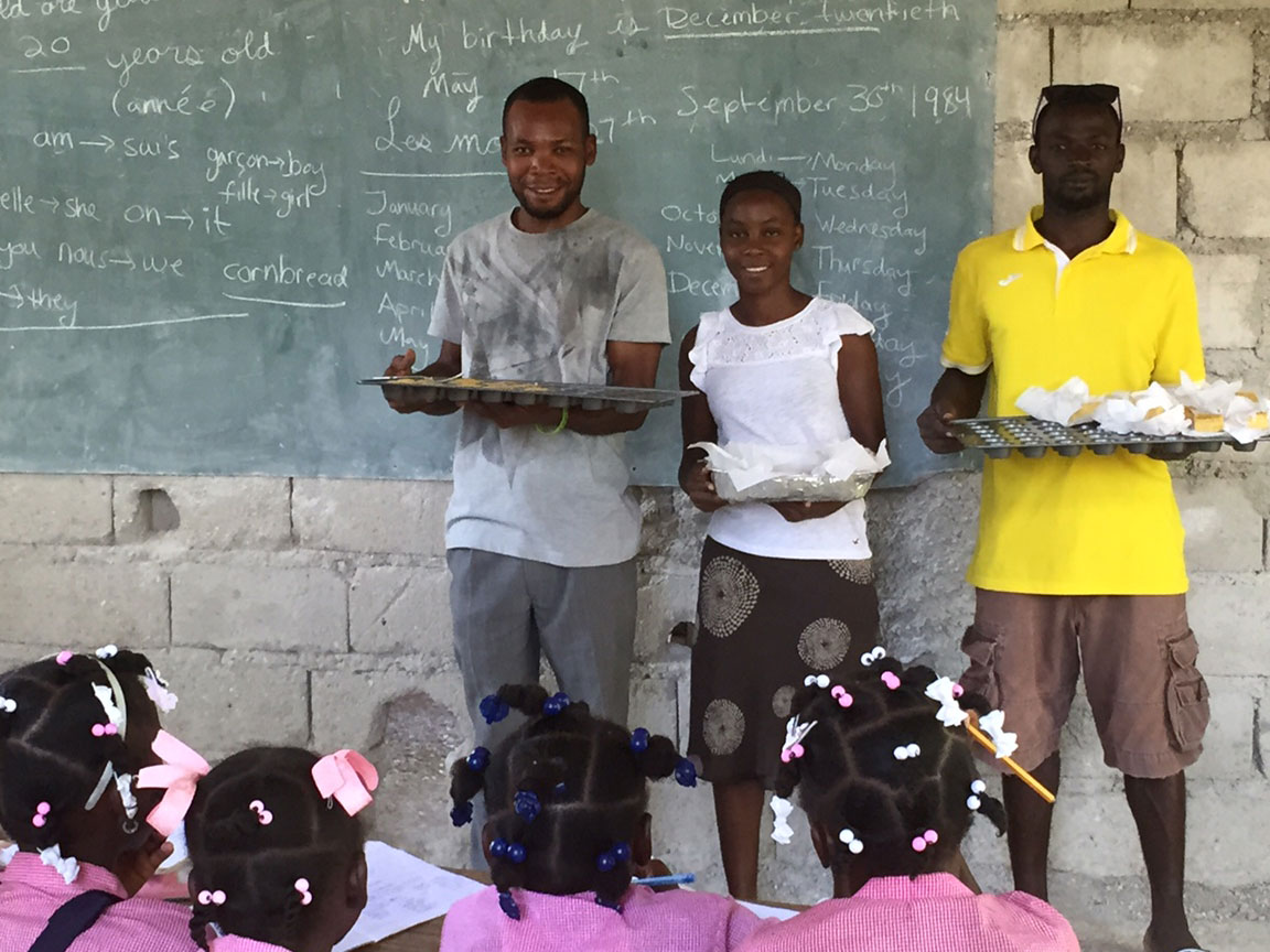 Real Bread Outreach in Haiti