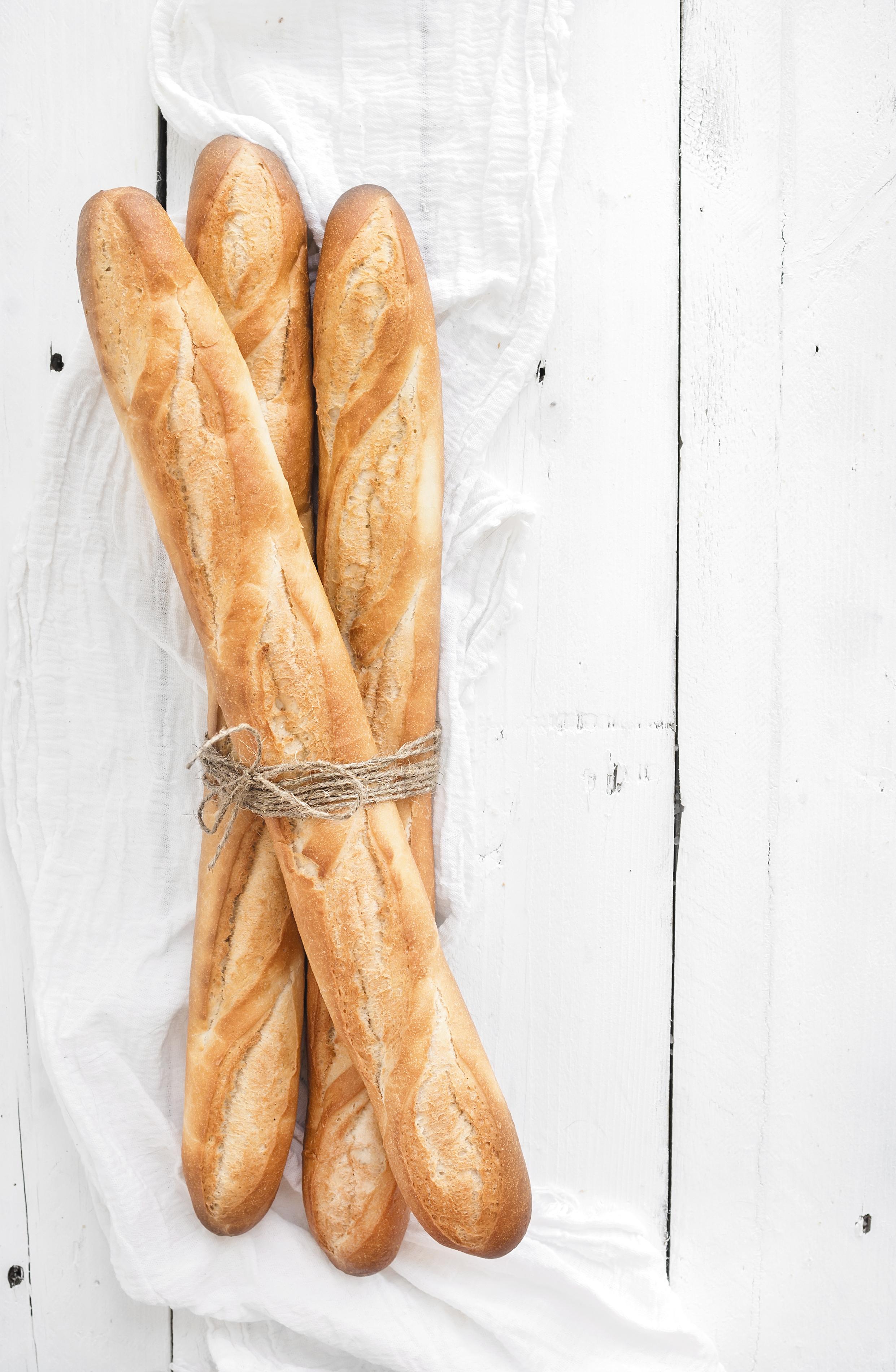 a bundle of baguettes